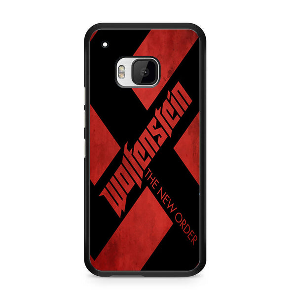 Wolfenstein Logo Poster For HTC ONE M9 Case