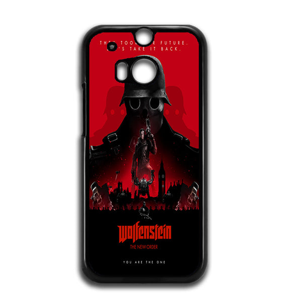 Wolfenstein The New Colossus Poster For HTC ONE M8 Case