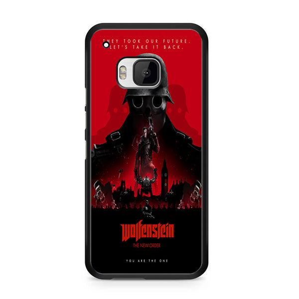 Wolfenstein The New Colossus Poster For HTC ONE M9 Case