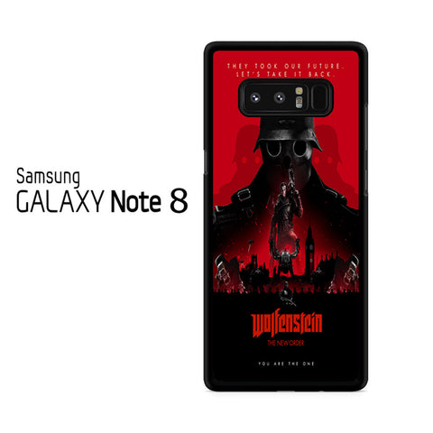 Wolfenstein The New Colossus Poster For Samsung Galaxy Note 8 Case