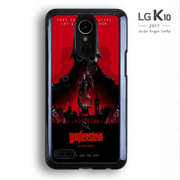 Wolfenstein The New Colossus Poster For LG K10 Case