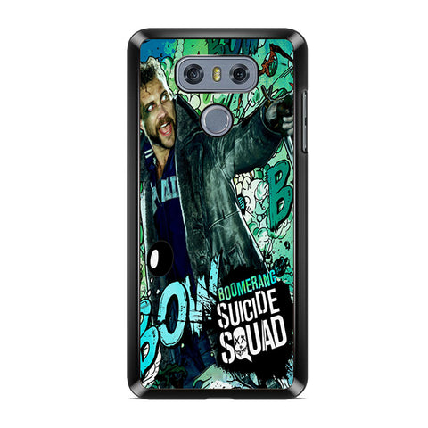 Boomerang Suicide Squad For LG G6 Case
