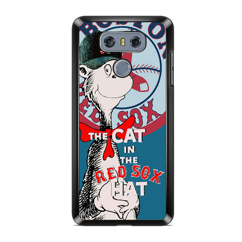 Boston Red Sox Cat In The Red Sox Hat For LG G6 Case