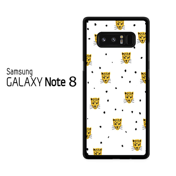Leopard Pattern For Samsung Galaxy Note 8 Case