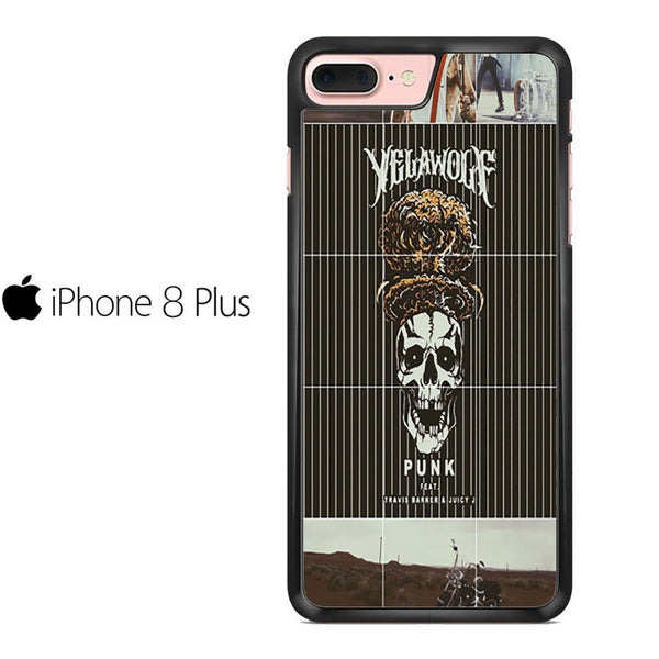 Yelawolf Punk Ft Travis Barker And Juicy J For IPHONE 8 PLUS Case