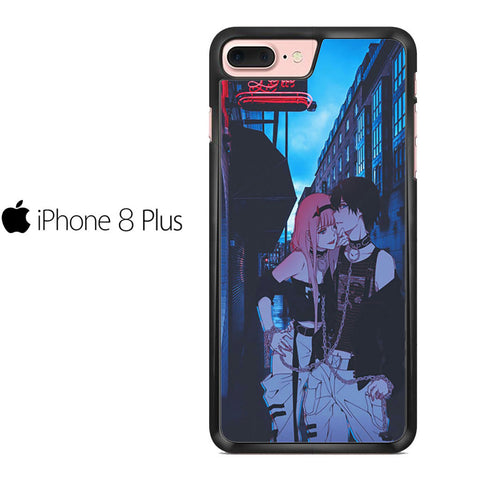 Zero Two And Hiro Darling In The Franxx Fanart For IPHONE 8 PLUS Case