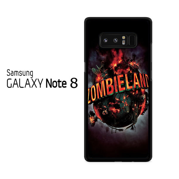 Zombieland Movie Logo For Samsung Galaxy Note 8 Case