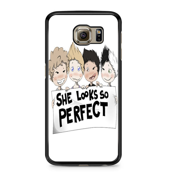 5 Seconds Of Summer Fan Art For Samsung Galaxy S6 Case