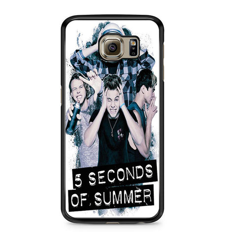 5 Seconds Of Summer Headache Official Poster For Samsung Galaxy S6 Case