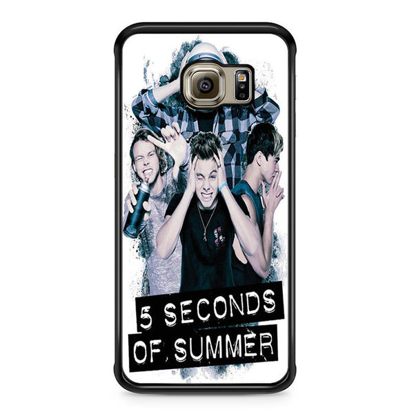 5 Seconds Of Summer Headache Official Poster For Samsung Galaxy S6 Edge Case