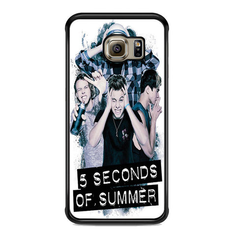 5 Seconds Of Summer Headache Official Poster For Samsung Galaxy S6 Edge Plus Case