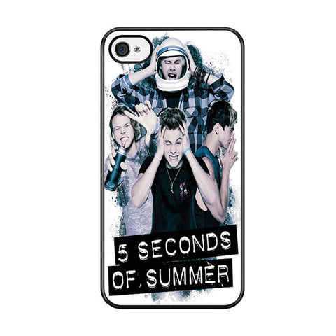 5 Seconds Of Summer Headache Official Poster For Iphone 5 Iphone 5S Iphone SE Case