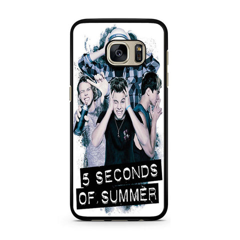 5 Seconds Of Summer Headache Official Poster For Samsung Galaxy S7 Case