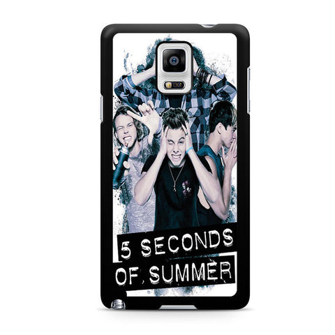 5 Seconds Of Summer Headache Official Poster For Samsung Galaxy Note 4 Case
