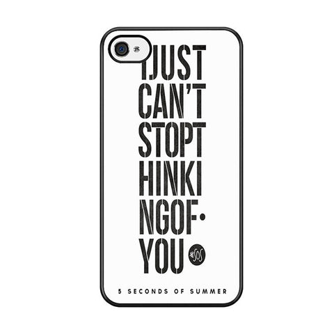 5 Seconds Of Summer I Just Cant Stop Thinking Of You For Iphone 5 Iphone 5S Iphone SE Case