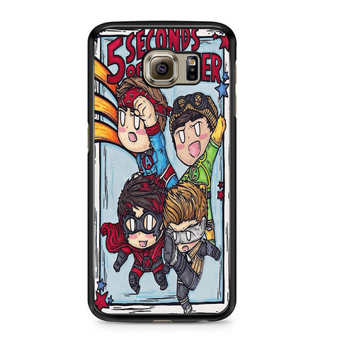 5sos Member Being Hero For Samsung Galaxy S6 Case
