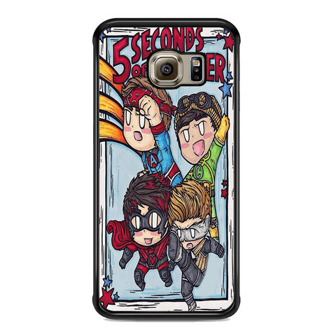 5sos Member Being Hero For Samsung Galaxy S6 Edge Plus Case