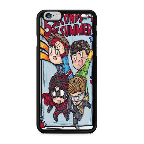5sos Member Being Hero For Iphone 6 Iphone 6S Case
