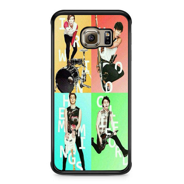 5sos Member For Samsung Galaxy S6 Edge Case