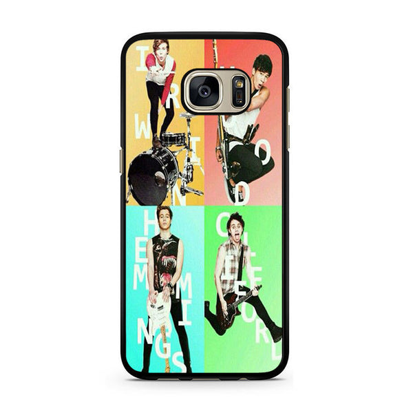 5sos Member For Samsung Galaxy S7 Case