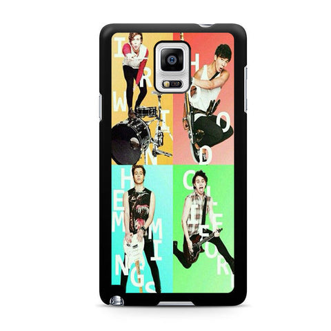 5sos Member For Samsung Galaxy Note 4 Case