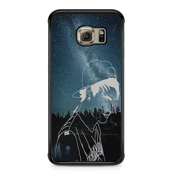 5sos Michael Clifford Star For Samsung Galaxy S6 Edge Case