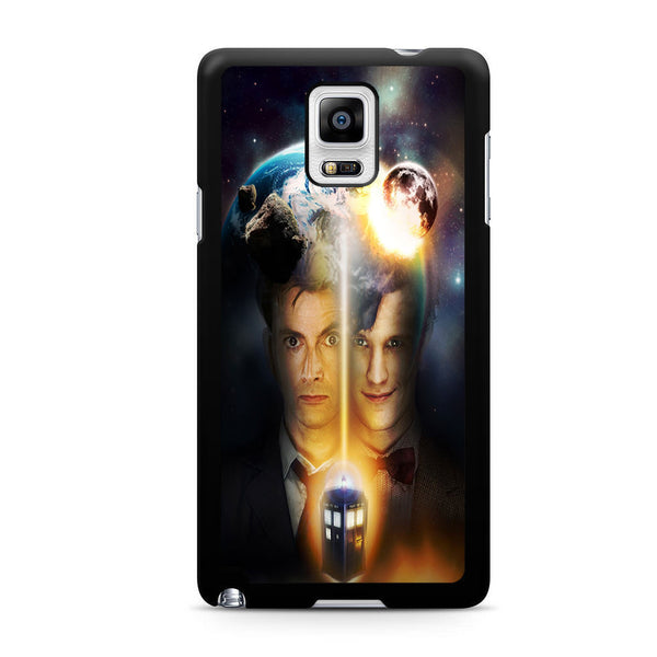 10th And 11th Doctor Who For Samsung Galaxy Note 4 Case