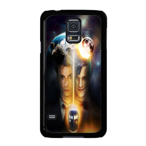 10th And 11th Doctor Who For Samsung Galaxy S5 Case