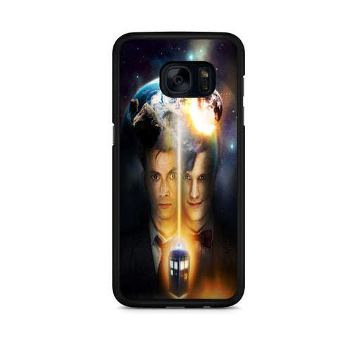 10th And 11th Doctor Who For Samsung Galaxy S7 Edge Case