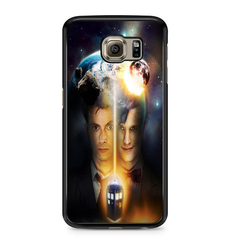 10th And 11th Doctor Who For Samsung Galaxy S6 Case