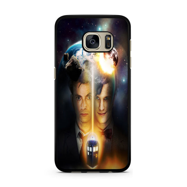 10th And 11th Doctor Who For Samsung Galaxy S7 Case