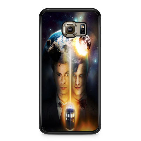 10th And 11th Doctor Who For Samsung Galaxy S6 Edge Case