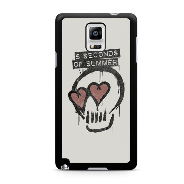 5 Seconds Of Summer Skull Logo For Samsung Galaxy Note 4 Case