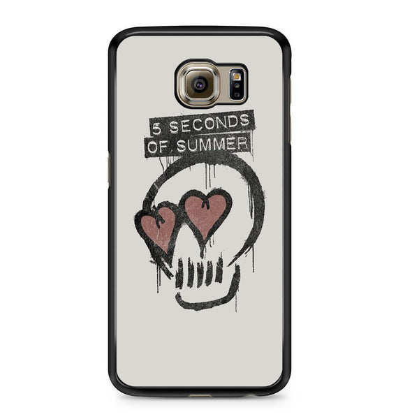 5 Seconds Of Summer Skull Logo For Samsung Galaxy S6 Case