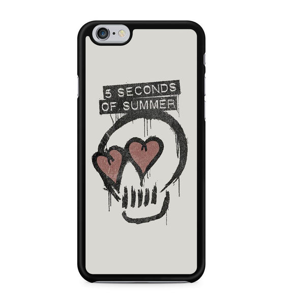 5 Seconds Of Summer Skull Logo For Iphone 6 Iphone 6S Case