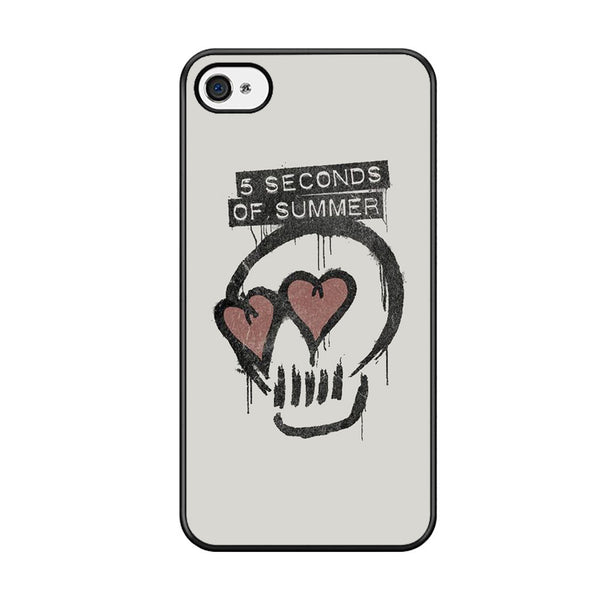 5 Seconds Of Summer Skull Logo For Iphone 5 Iphone 5S Iphone SE Case