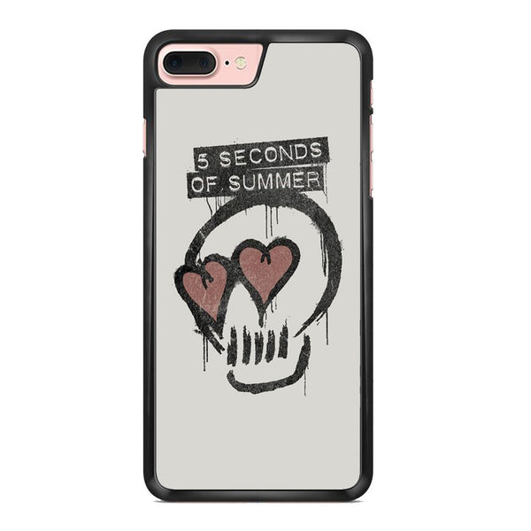5 Seconds Of Summer Skull Logo For Iphone 7 Plus Case