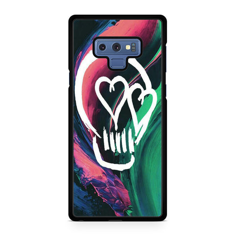 5 Seconds Of Summer Skull For Samsung Galaxy Note 9