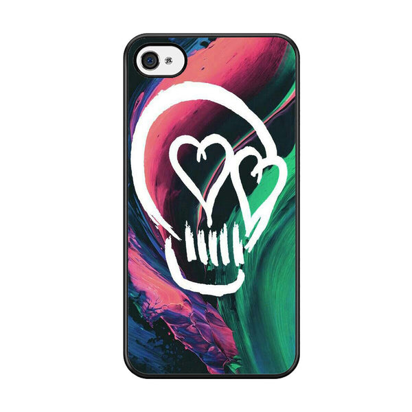5 Seconds Of Summer Skull For Iphone 5 Iphone 5S Iphone SE Case