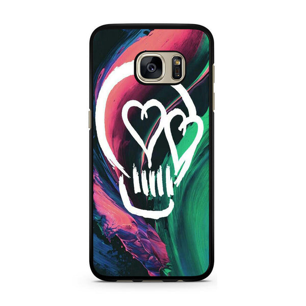 5 Seconds Of Summer Skull For Samsung Galaxy S7 Case