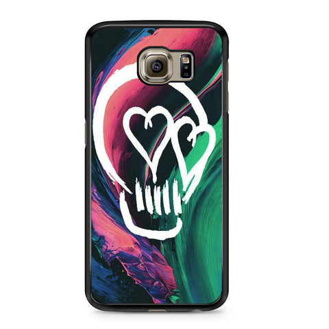 5 Seconds Of Summer Skull For Samsung Galaxy S6 Case
