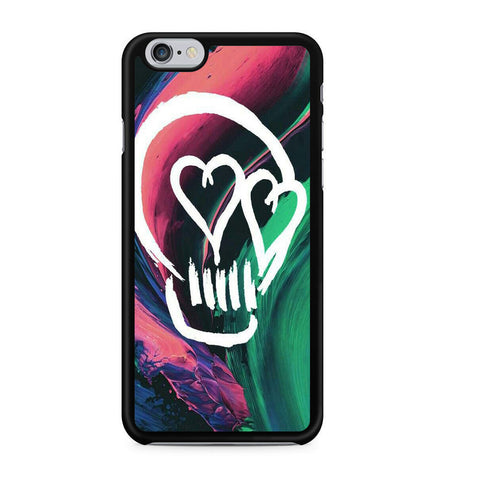 5 Seconds Of Summer Skull For Iphone 6 Iphone 6S Case
