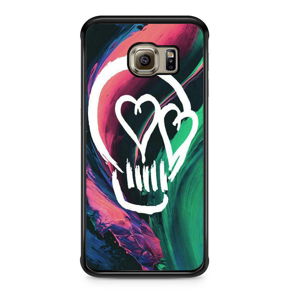 5 Seconds Of Summer Skull For Samsung Galaxy S6 Edge Case