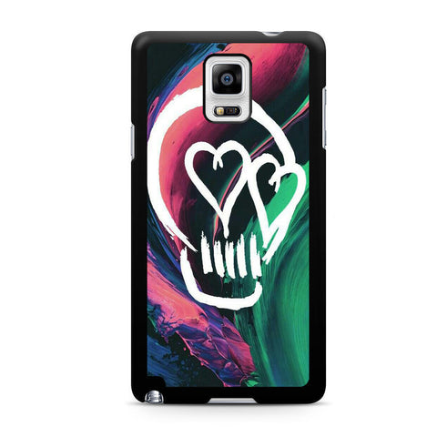 5 Seconds Of Summer Skull For Samsung Galaxy Note 4 Case
