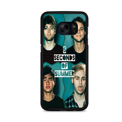 5 Seconds Of Summer For Samsung Galaxy S7 Edge Case