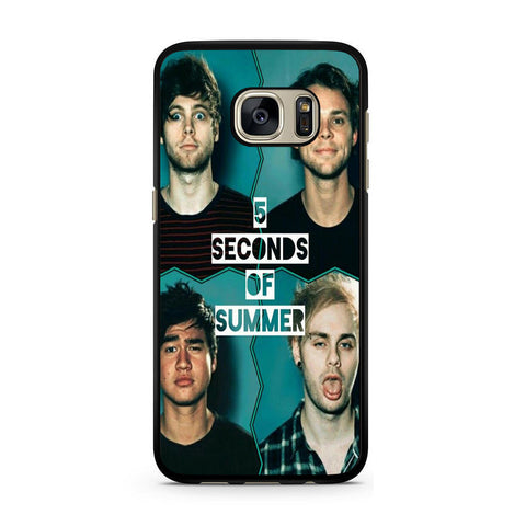5 Seconds Of Summer For Samsung Galaxy S7 Case