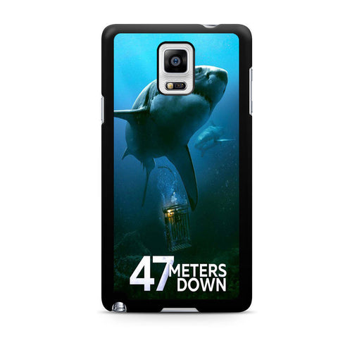 47 Meters Down 2017 Movie For Samsung Galaxy Note 4 Case