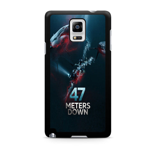 47 Meters Down For Samsung Galaxy Note 4 Case