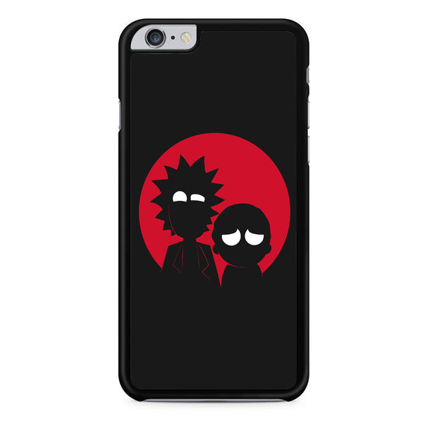 newest 9899a 910f7 Morty And Rick Silhouette For Iphone 6 Plus Iphone 6S Plus Case