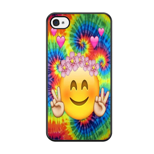 outlet store 9640b 0a709 Tie Dye Smiley Face Emoji For Iphone 5 Iphone 5S Iphone SE Case